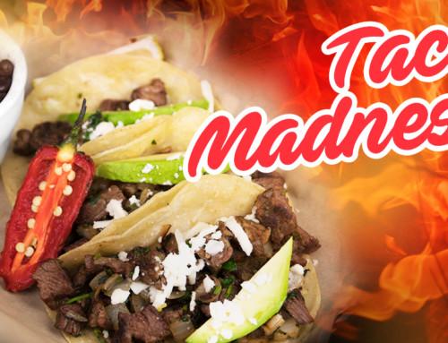 New Taco Madness Menu at Pueblo Viejo Mexican Restaurant in Porter, Texas