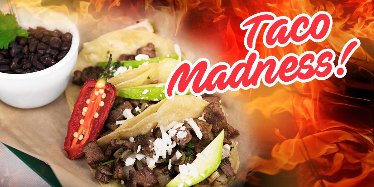 Taco Madness Menu - Pueblo Viejo Mexican Restaurant Porter