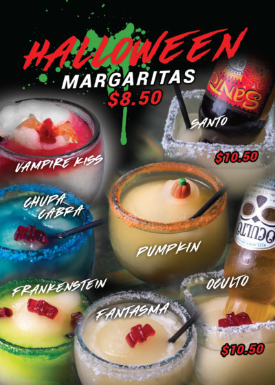 Pueblo Viejo Halloween Margartias