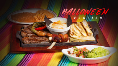 Pueblo Viejo Halloween Platter