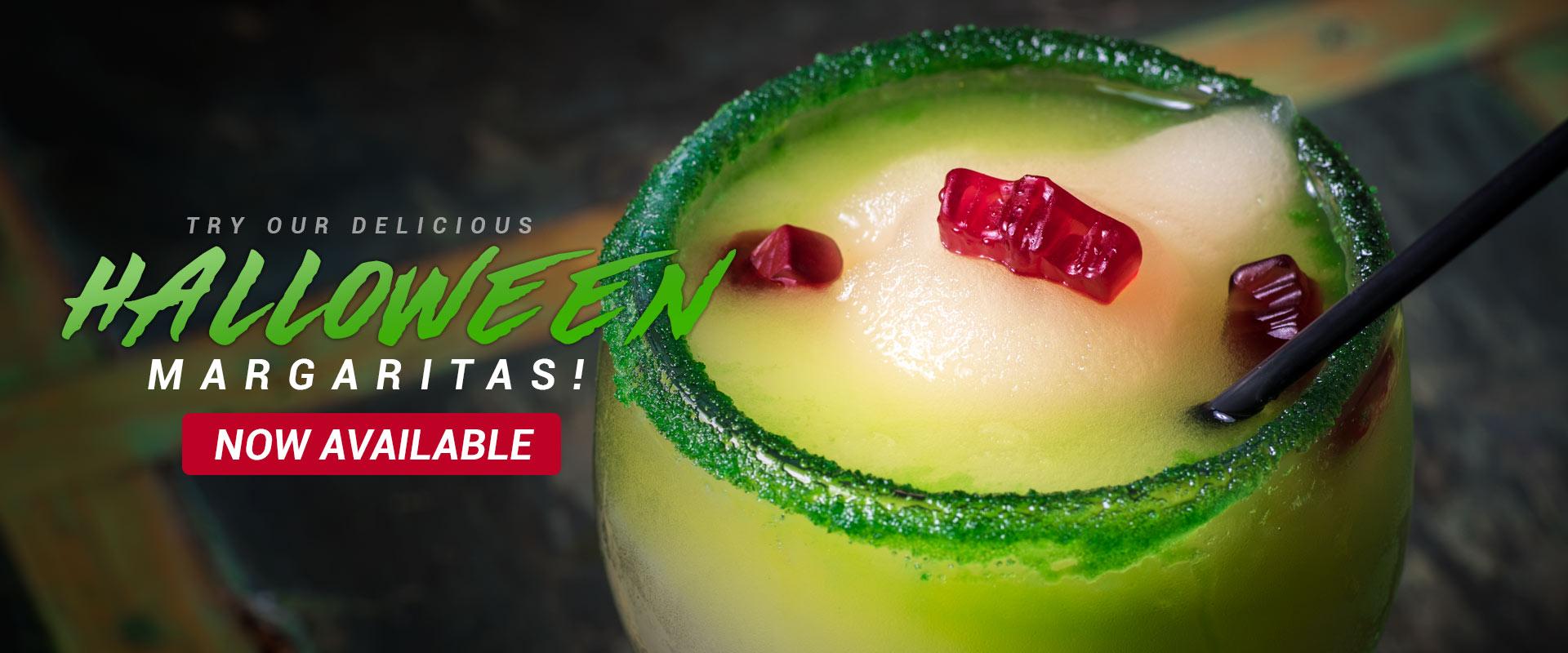 Halloween Margaritas - Pueblo Viejo Mexican Restaurant