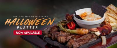 Halloween Platter - Pueblo Viejo Mexican Restaurant