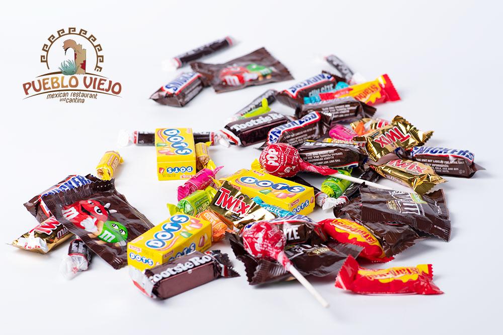 Pueblo Viejo Mexican Restaurant Candy Giveaway