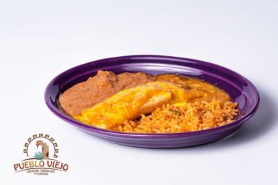 Pueblo Viejo Mexican Restaurant Cheese Enchilada