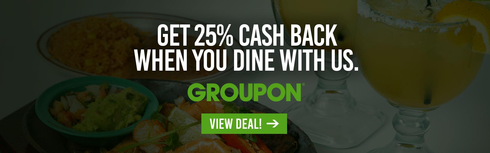Groupon Discount At Pueblo Viejo Mexican Restaurant Pueblo